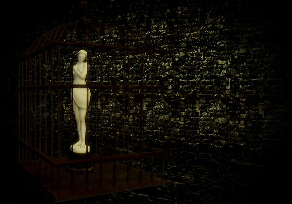 The Caged Lady
