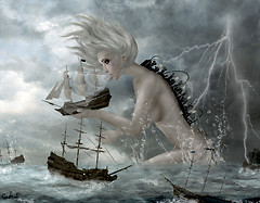 Give Praise to the Goddess of Stormy Seas (for your life is in her hands)
