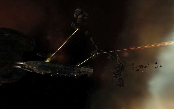 Eve Online: mining ops