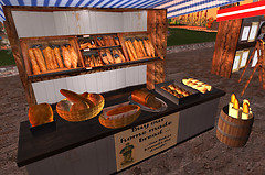 Bread Stall @ Giverny Market