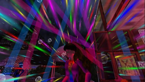 dj particle show