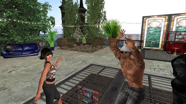 rafee, xavier at brick house