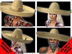 *BR* Mexican Hat - CSS Gift 10 LD