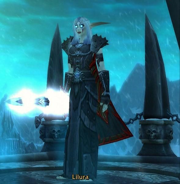 Lilura - My new Night Elf Death Knight