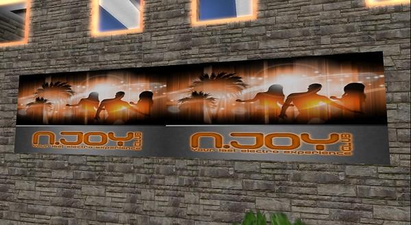 n.joy club exterior