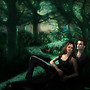 Twilight-Edward and Bella in the Forest