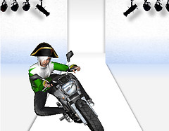 Motorbike fashion show