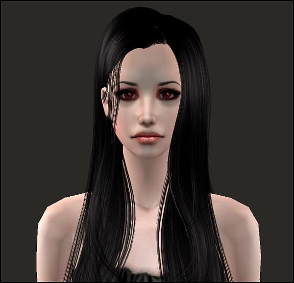 Primo piano vampira Rose