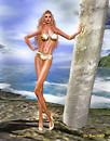 Fuzz Lennie in Bikini