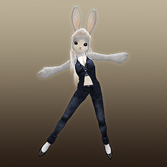 bunny with ::RC:: ADONIS <saphire>
