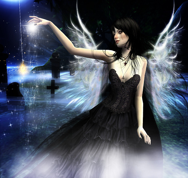 Angels grow when you plant angels dust...