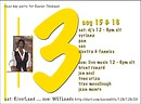 BIG 3 > Xavier Rezz Day on Aug 15, 16, 2009