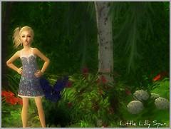 New model; Lilly Spar.