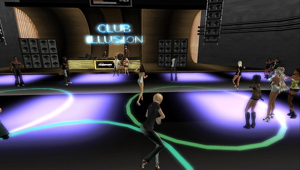 club illusion party virtual wo...