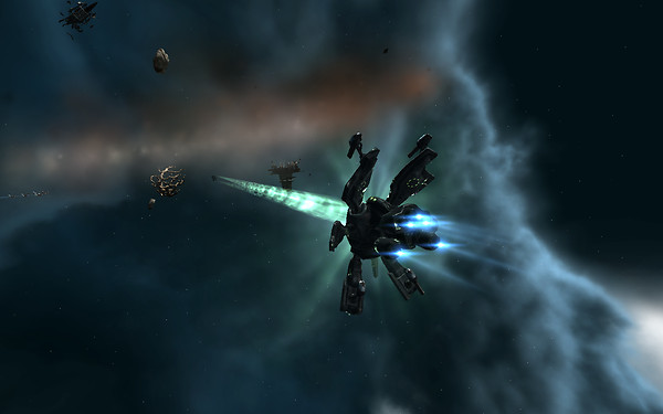 Eve Online: Exchanging fire