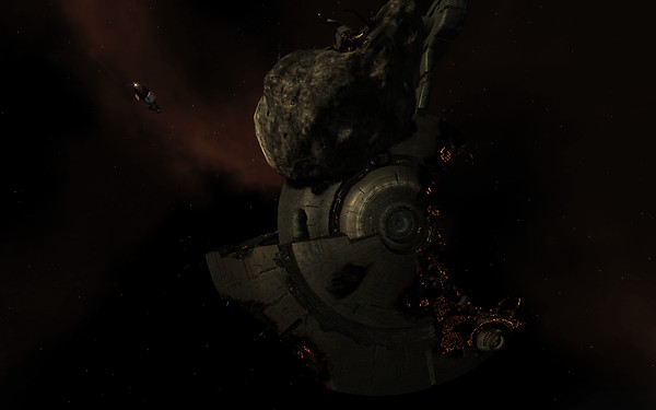 Eve Online: Infested station ruins