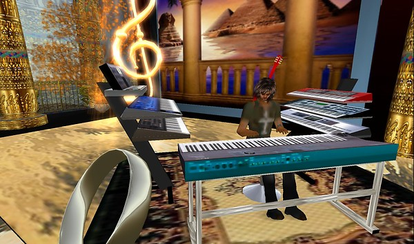 second life live music : andre...