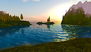 Native Lands bay sunset