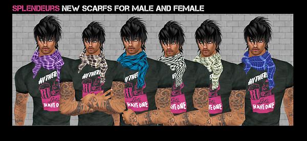 splendeurs scarfs