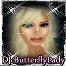 DJ ButterflyLadyButterflyLady Swansong's Head Shot