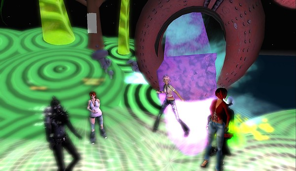 mr widget party second life