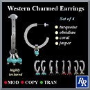 Western Charmed Earrings