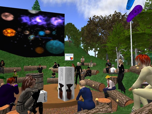 Jennette Forager presents on her work at the Epoch Institute - Chimera Cosmos