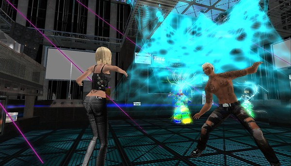 the club in second life