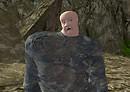 Second Life Ugly Stone Golem