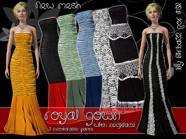 Royal gown