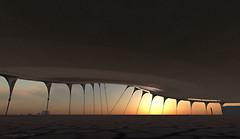 Sunset on the Playa -
