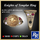 Men's Knights of Templar Ring