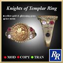 Men's Knights of Templar Ring