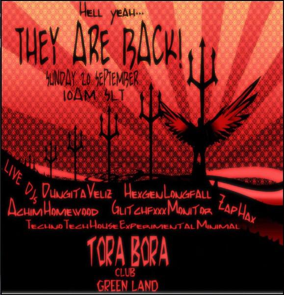 TORA BORA CLUB : they are back!