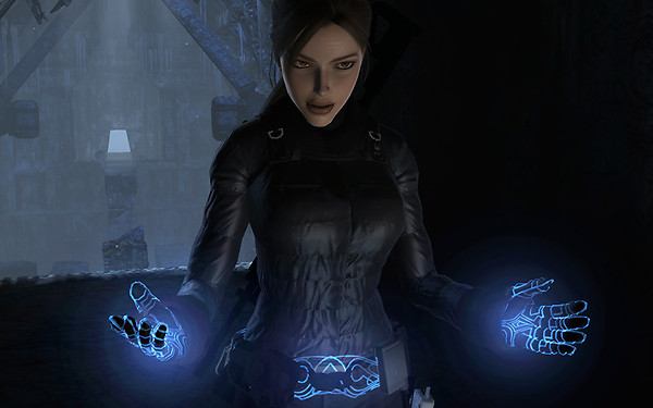 Lara Croft in Walhall