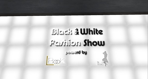 black and white fashion show