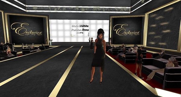 fashion show in second life