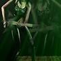 Green guitarist