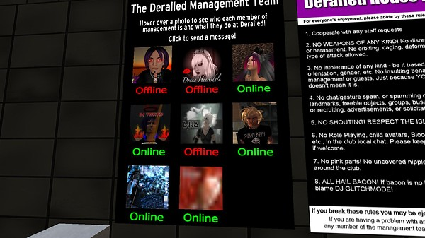 derailed staff