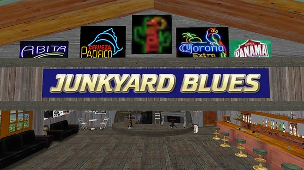 junkyard blues outdoor area
