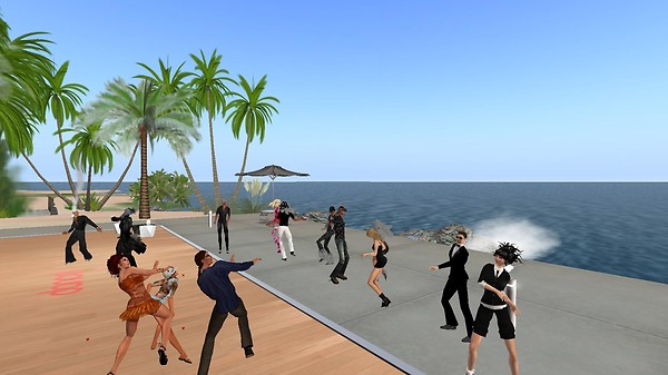 dogglounge virtual world secon...