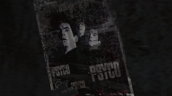 the outland posters : psycho