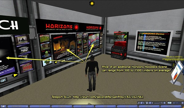Horizons Holodeck Main Store