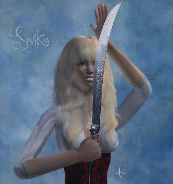 Saskia the pirate