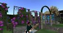 Sitar Player in a Rose Garden