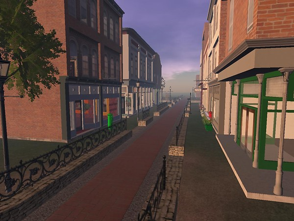 the Victorian Town of Quirm in OSGrid