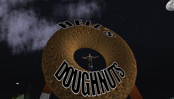 Hell's Doughnuts by Night