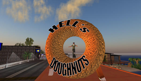 Hell's Doughnuts by Day