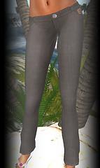 Hula linen pants brown