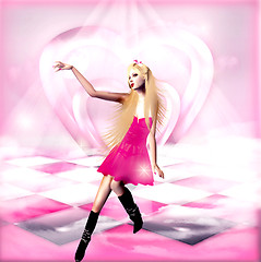Queen of Pink Hearts...